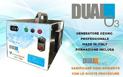 Sanificazione Covid 19 Generatore ozono professionale